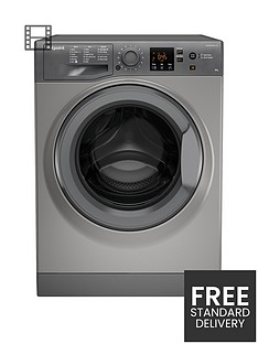 hotpoint-nswm843cgg-8kg-load-1400-spin-washing-machine-graphite