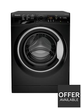 hotpoint-nswm843cbsukn-8kg-load-1400-spin-washing-machine-black