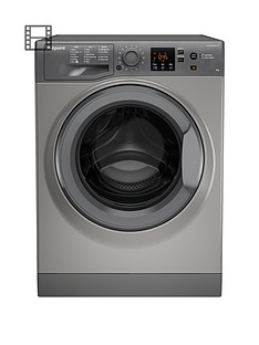 hotpoint-nswm943cgg-9kg-load-1400-spin-washing-machine-graphite
