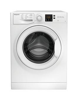 Hotpoint Nswm742Uw 7Kg Load, 1400 Spin Washing Machine - White