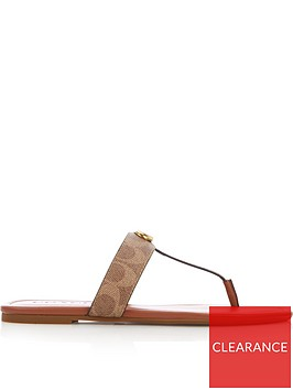 coach-jessie-signature-coated-canvas-thong-sandals-tan