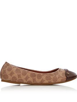 coach-brandi-c-button-coated-canvas-ballet-shoes-tan