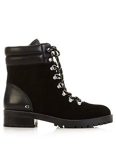 coach-lorren-chain-lace-up-bootsnbsp--black