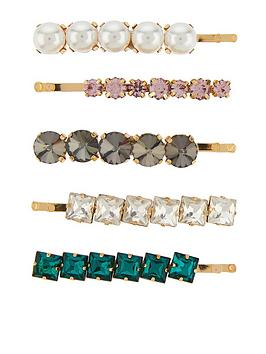 accessorize-accessorize-5-x-pearl-and-gem-party-clip-pack