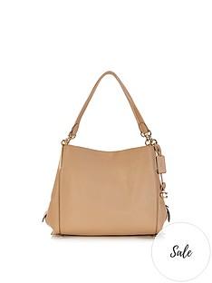 coach-dalton-31-polished-pebble-leather-shoulder-bag-cream