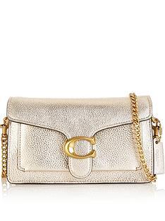 coach-tabby-metallic-chain-strap-cross-body-bag-gold