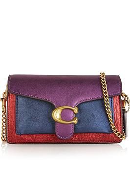 coach-tabby-metallic-colourblock-chain-strap-cross-body-bag-multicolour
