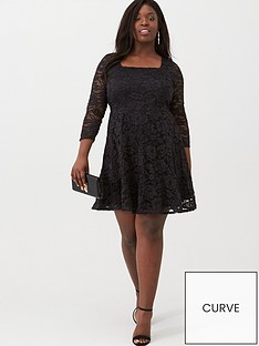 v-by-very-curve-lace-skater-dress-black