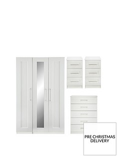 frodsham-part-assemblednbsp4-piece-package-3-door-mirrored-wardrobe-5-drawer-chest-and-2-bedside-chests