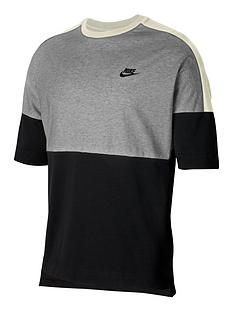 nike-sportswear-plus-size-short-sleevesnbspjersey-top-blacknbsp