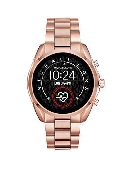 Michael Kors Michael Kors Gen 5 Full Display Rose Gold Stainless Steel Bracelet Smart Watch