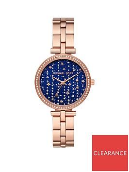michael-kors-mk4451-macinbspblue-falling-starts-dial-rose-gold-stainless-steel-bracelet-ladies-watch