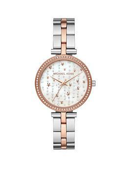 michael-kors-mk4452-macinbspsilver-and-rose-gold-falling-stars-dial-two-tone-stainless-steel-bracelet-ladies-watch
