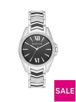 michael-kors-mk6742-whitneynbspblack-and-silver-detail-dial-two-tone-stainless-steel-crystal-set-bracelet-ladies-watch