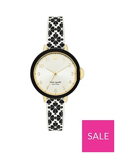 kate-spade-new-york-silver-sunray-and-gold-detail-dial-white-and-black-spade-print-silicone-strap-ladies-watch