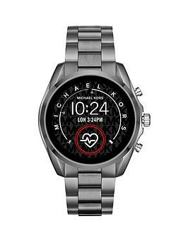 michael-kors-michael-kors-gen-5-full-display-gunmetal-grey-stainless-steel-bracelet-smart-watch