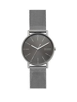 skagen-skagen-grey-sunray-dial-grey-ip-stainless-steel-mesh-strap-watch