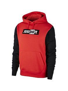 nike-jdi-logo-hoodie-redblack