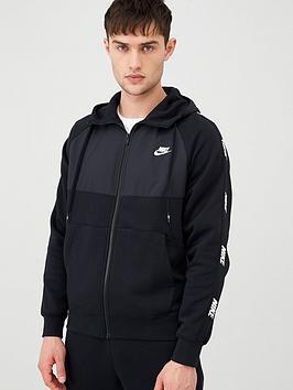 nike-hybrid-taped-full-zip-hoodie-blacknbsp