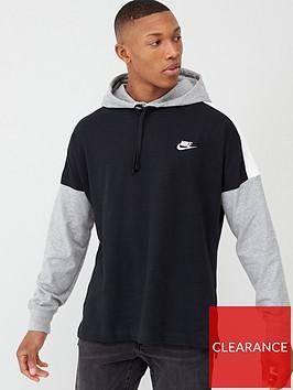 nike-overhead-jersey-hoodie-blackgrey