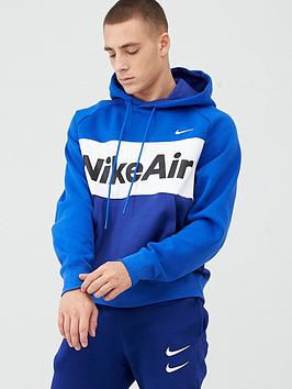 nike-air-overhead-fleece-hoodie-blue