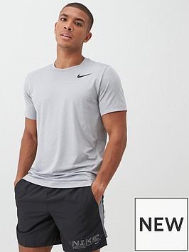 nike-hyperdry-short-sleeve-t-shirt-grey