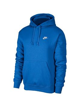 nike-club-fleece-overhead-hoodie-blue