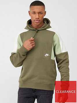 nike-colourblock-pullover-hoodie-green
