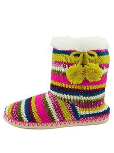 accessorize-fairweather-stripe-knitted-boot-slippers-multi