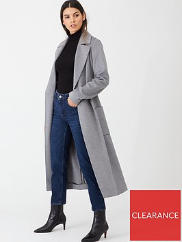 ted-baker-joseete-belted-long-coat-light-grey