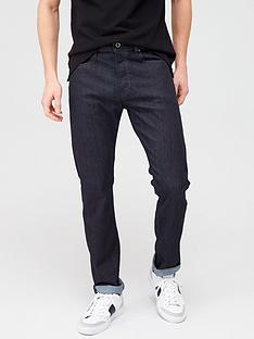 diesel-buster-tapered-fit-jeans-black