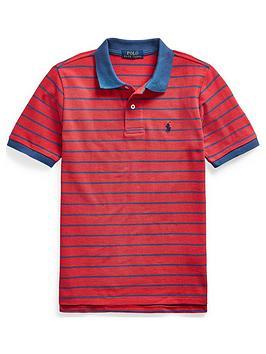 ralph-lauren-boys-short-sleeve-stripe-polo-top-red