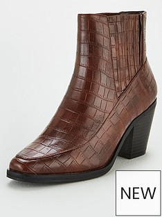 v-by-very-fae-croc-ankle-boots-dark-tan