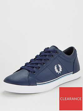fred-perry-baseline-leather-trainer-navy