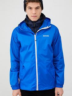 regatta-pack-away-jacket-blue