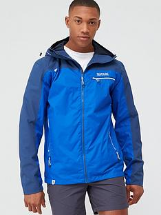 regatta-highton-stretch-jacket-blue