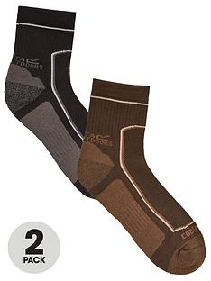 regatta-2-pack-active-lifestyle-socks-blackgreynbsp
