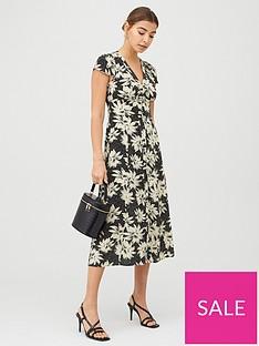 whistles-starburst-floral-print-dress-blackmulti