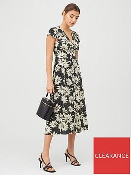 whistles-starburst-floral-print-dress-blackmulti