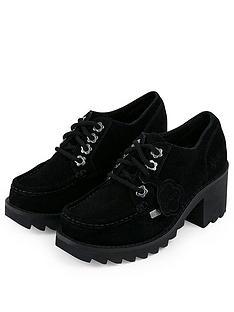 kickers-klio-fleur-lace-heeled-shoes-black