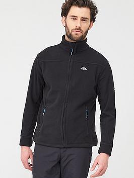 trespass-bernal-zip-through-fleece-black