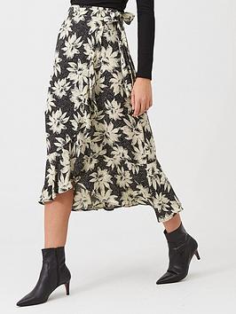 whistles-starburst-floral-wrap-skirt-blackwhite