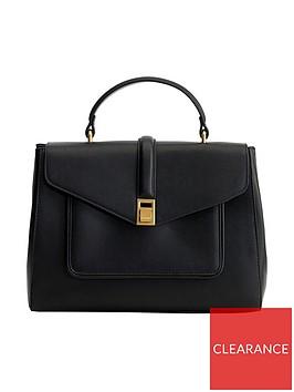 mango-flap-tote-bag-black