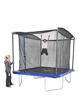 Sportspower 8Ft X 6Ft Rectangular Trampoline With Easi-Store