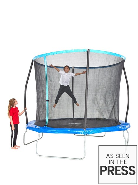 sportspower-10ft-trampoline-with-easi-store-folding-enclosure-amp-flip-pad