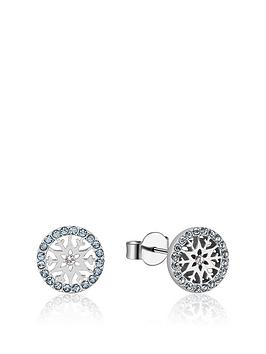 disney-disney-frozen-ii-crystal-snowflake-aquamarine-stud-earrings