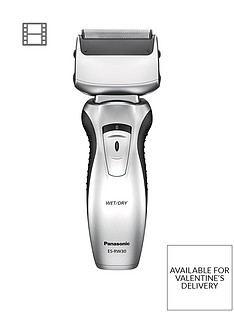 Panasonic ES-RW30-S511 Cordless Twin Blade, Wet or Dry Shaver