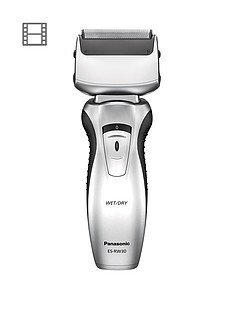 Panasonic ES-RW30-S511 Cordless Twin Blade, Wet or Dry Shaver Best Price, Cheapest Prices