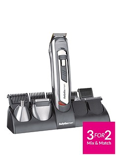 BaByliss For Men 7235U 10-in-1 Grooming System