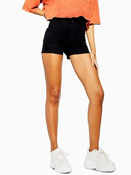 topshop-joni-shorts-black